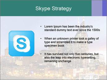 Skyline of Nashville PowerPoint Templates - Slide 8