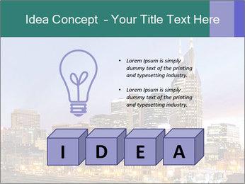 Skyline of Nashville PowerPoint Templates - Slide 80
