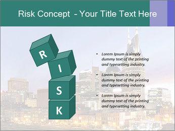 Skyline of Nashville PowerPoint Templates - Slide 81