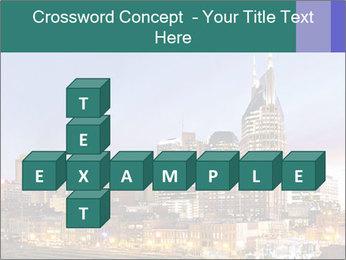 Skyline of Nashville PowerPoint Templates - Slide 82
