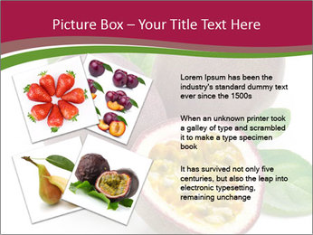 Passion fruit PowerPoint Template - Slide 23