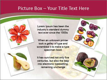 Passion fruit PowerPoint Template - Slide 24