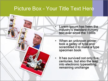 Repairing a power line PowerPoint Template - Slide 17