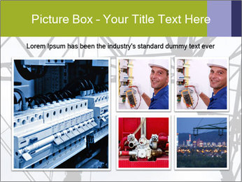 Repairing a power line PowerPoint Template - Slide 19