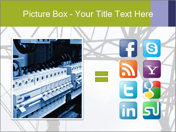 Repairing a power line PowerPoint Template - Slide 21