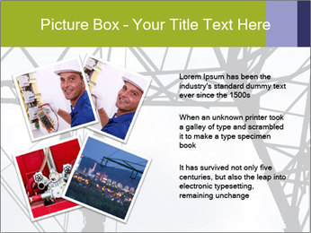 Repairing a power line PowerPoint Template - Slide 23