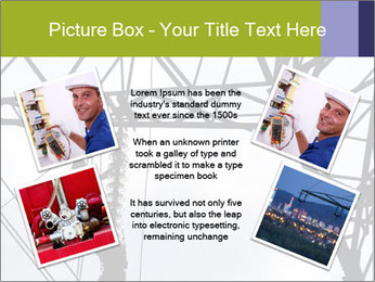 Repairing a power line PowerPoint Template - Slide 24