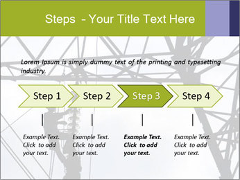 Repairing a power line PowerPoint Template - Slide 4