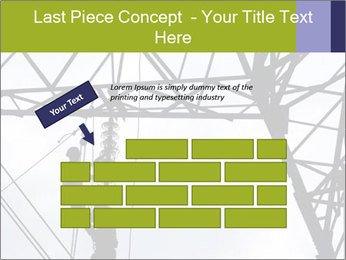 Repairing a power line PowerPoint Template - Slide 46