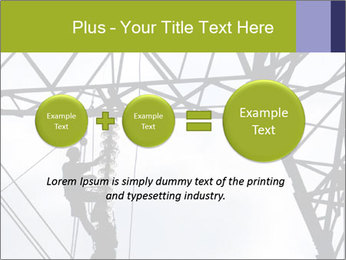 Repairing a power line PowerPoint Template - Slide 75