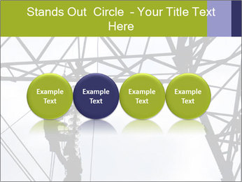 Repairing a power line PowerPoint Template - Slide 76