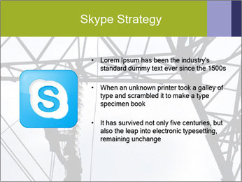 Repairing a power line PowerPoint Template - Slide 8