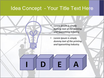 Repairing a power line PowerPoint Template - Slide 80