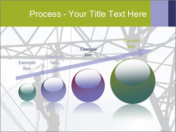 Repairing a power line PowerPoint Template - Slide 87