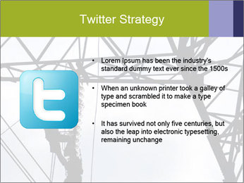 Repairing a power line PowerPoint Template - Slide 9
