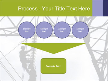 Repairing a power line PowerPoint Template - Slide 93