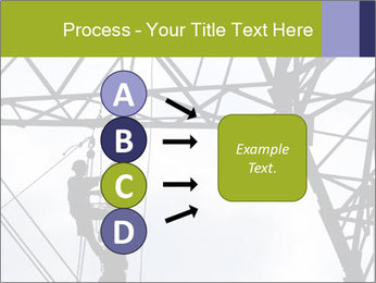 Repairing a power line PowerPoint Template - Slide 94