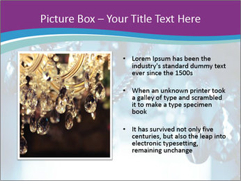 Chrystal chandelier PowerPoint Templates - Slide 13