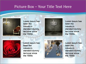Chrystal chandelier PowerPoint Templates - Slide 14