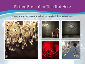 Chrystal chandelier PowerPoint Templates - Slide 19