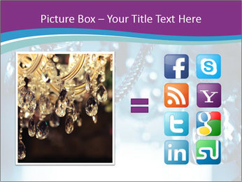 Chrystal chandelier PowerPoint Templates - Slide 21