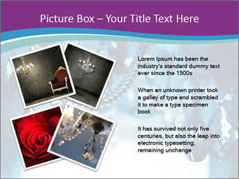 Chrystal chandelier PowerPoint Templates - Slide 23