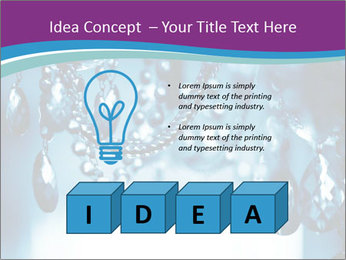 Chrystal chandelier PowerPoint Templates - Slide 80