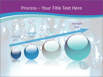 Chrystal chandelier PowerPoint Templates - Slide 87