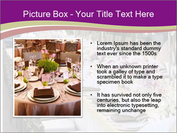 Festive table PowerPoint Template - Slide 13