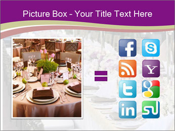 Festive table PowerPoint Template - Slide 21