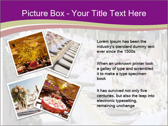 Festive table PowerPoint Template - Slide 23