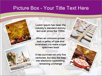 Festive table PowerPoint Template - Slide 24