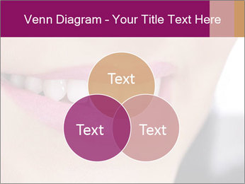 Beautiful young smiling woman PowerPoint Template - Slide 33