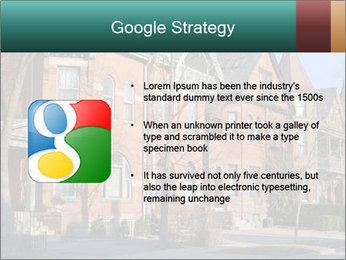 Victorian row of houses PowerPoint Template - Slide 10