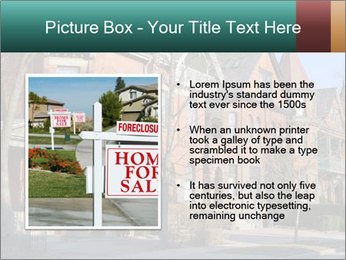 Victorian row of houses PowerPoint Template - Slide 13