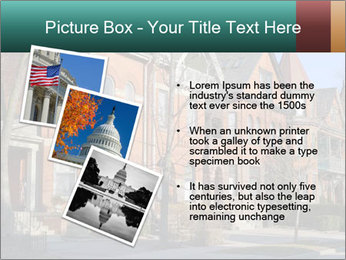 Victorian row of houses PowerPoint Template - Slide 17