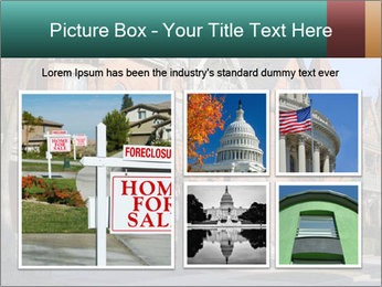 Victorian row of houses PowerPoint Template - Slide 19