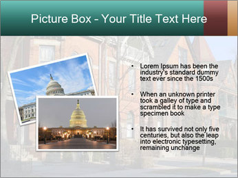 Victorian row of houses PowerPoint Template - Slide 20