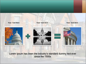 Victorian row of houses PowerPoint Template - Slide 22