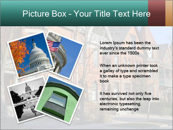 Victorian row of houses PowerPoint Template - Slide 23