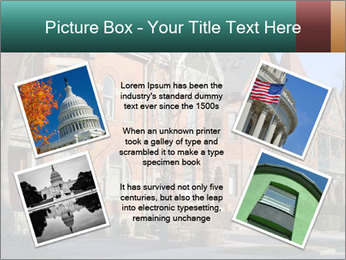 Victorian row of houses PowerPoint Template - Slide 24