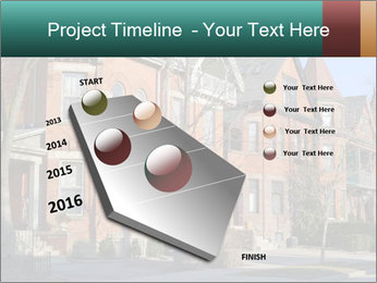 Victorian row of houses PowerPoint Template - Slide 26