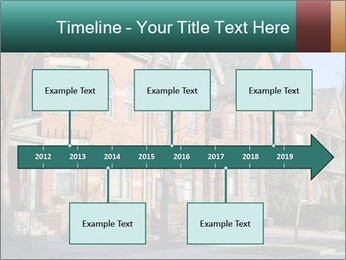 Victorian row of houses PowerPoint Template - Slide 28