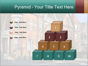 Victorian row of houses PowerPoint Template - Slide 31