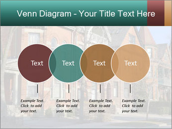 Victorian row of houses PowerPoint Template - Slide 32