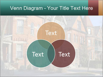 Victorian row of houses PowerPoint Template - Slide 33