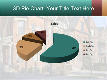 Victorian row of houses PowerPoint Template - Slide 35