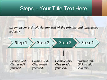 Victorian row of houses PowerPoint Template - Slide 4