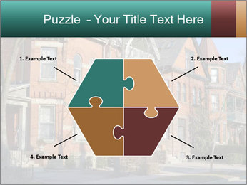 Victorian row of houses PowerPoint Template - Slide 40