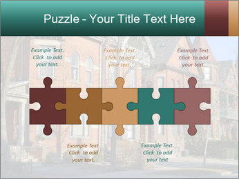 Victorian row of houses PowerPoint Template - Slide 41
